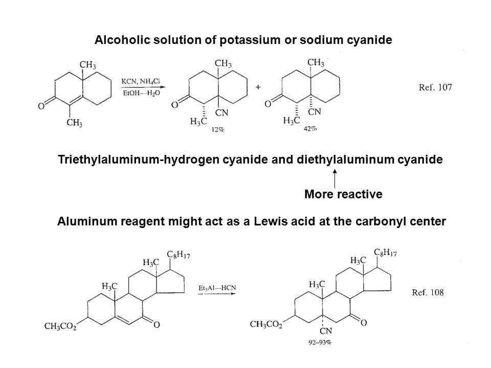 Alcoholic solution of potassium or sodium cyanide