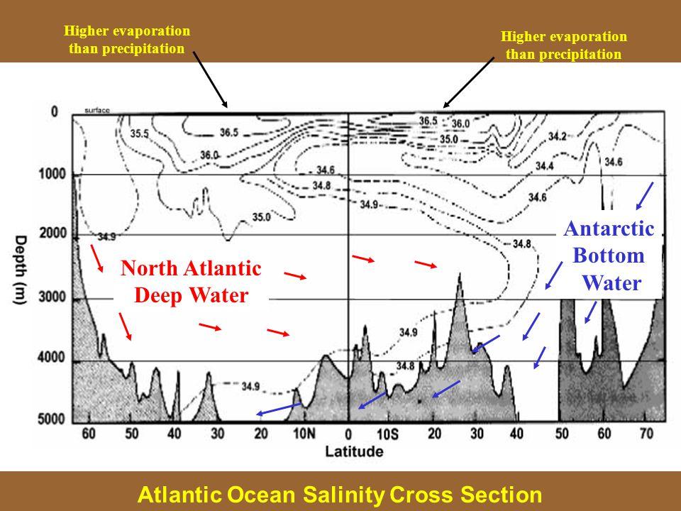 Antarctic Bottom Water North Atlantic Deep Water