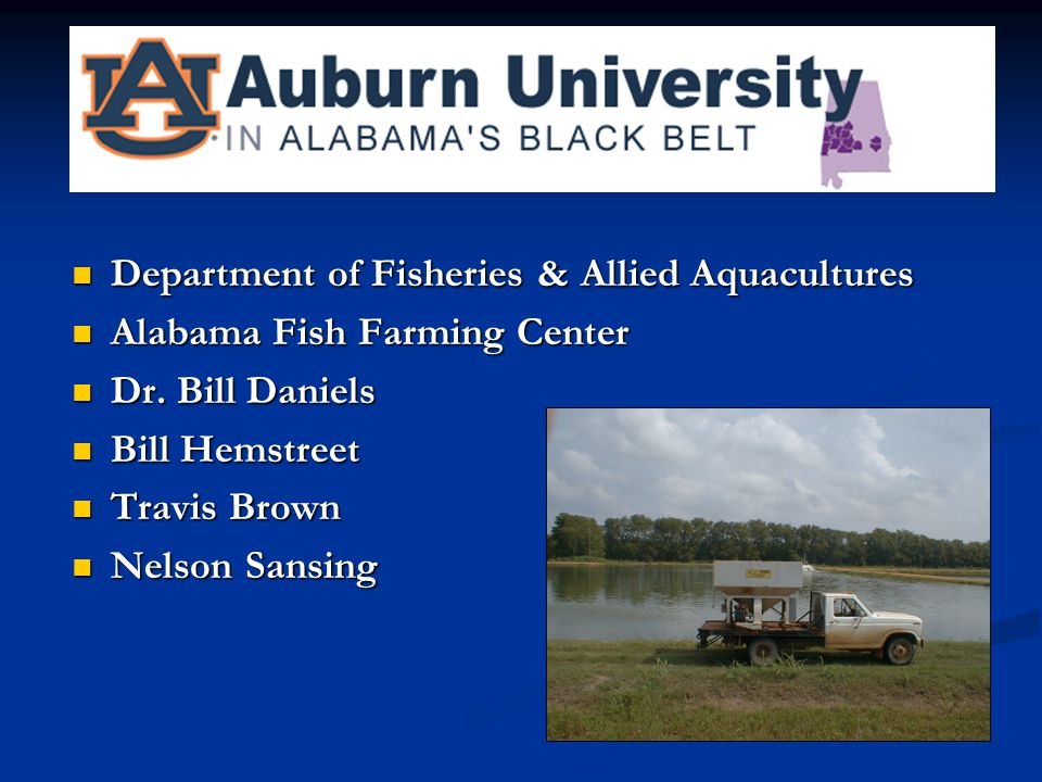Department of Fisheries & Allied Aquacultures
