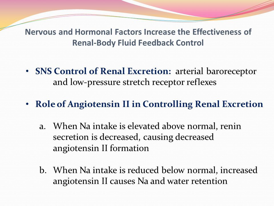 Nervous and Hormonal Factors Increase the Effectiveness of Renal-Body Fluid Feedback Control