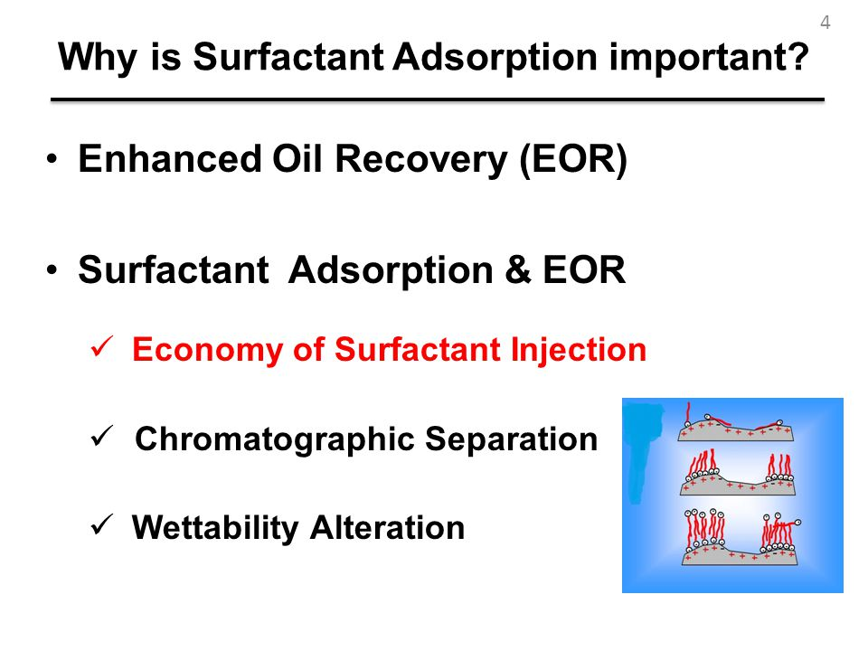 Why is Surfactant Adsorption important