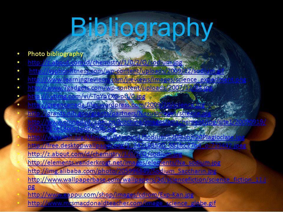 Bibliography Photo bibliography