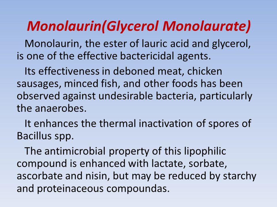 Monolaurin(Glycerol Monolaurate)