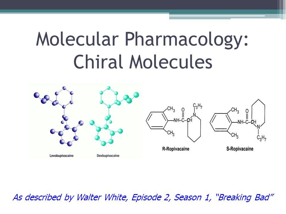 Molecular Pharmacology: Chiral Molecules