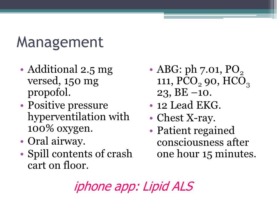 Management iphone app: Lipid ALS