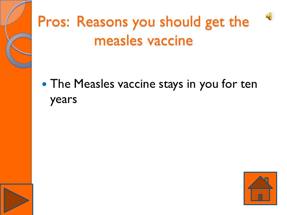 Pros: Reasons you should get the measles vaccine