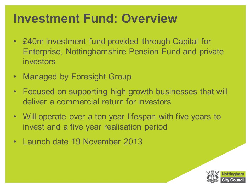 Investment Fund: Overview