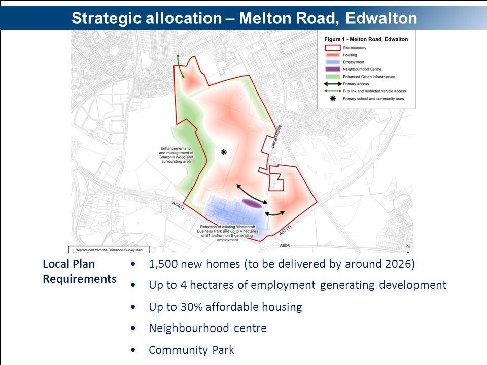 Strategic allocation – Melton Road, Edwalton