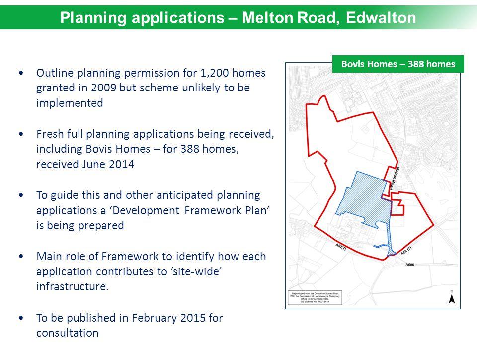 Planning applications – Melton Road, Edwalton