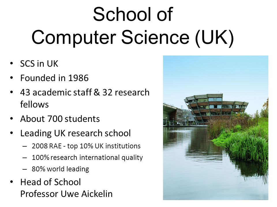 School of Computer Science (UK)