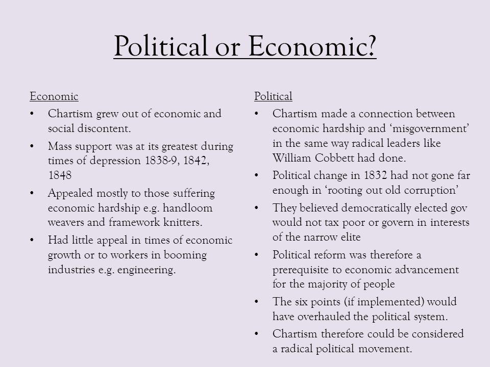 Political or Economic Economic