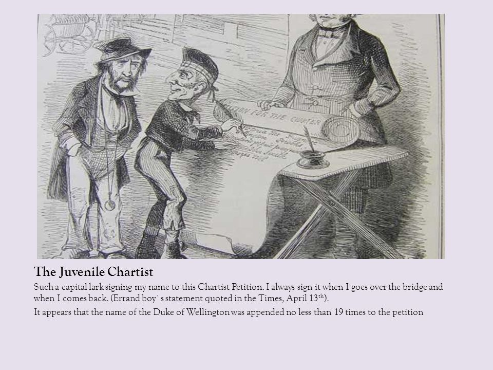 The Juvenile Chartist