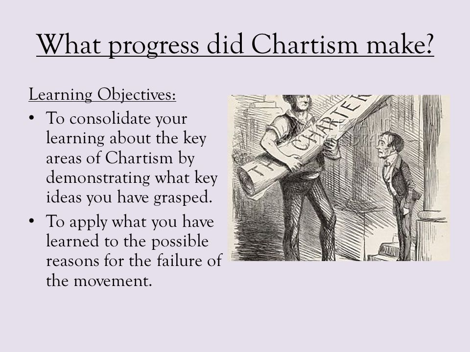 an explanation of what chartism is Description sculpture group illustrating the desire for political change, and how  this desire motivated the chartist movement the three groups take their titles.