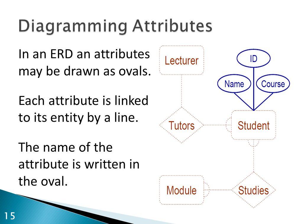 Diagramming Attributes