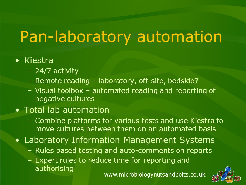 Pan-laboratory automation