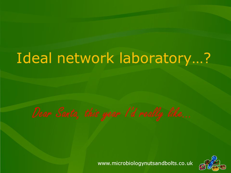 Ideal network laboratory…