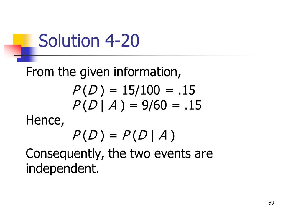 Solution 4-20 From the given information,