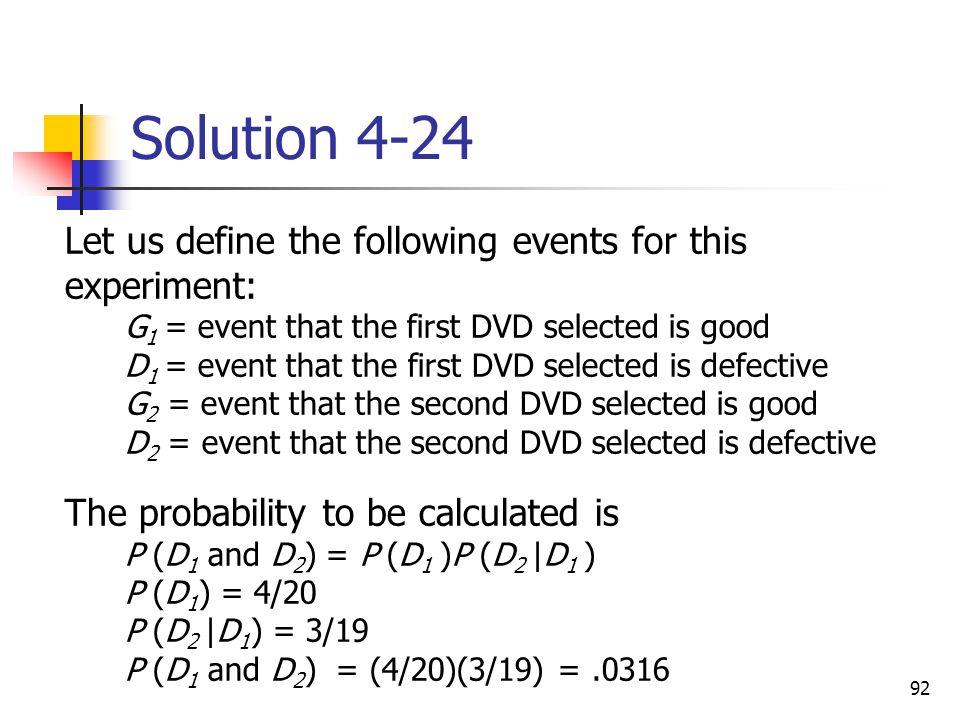 Solution 4-24