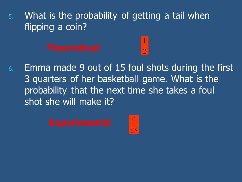 What is the probability of getting a tail when flipping a coin