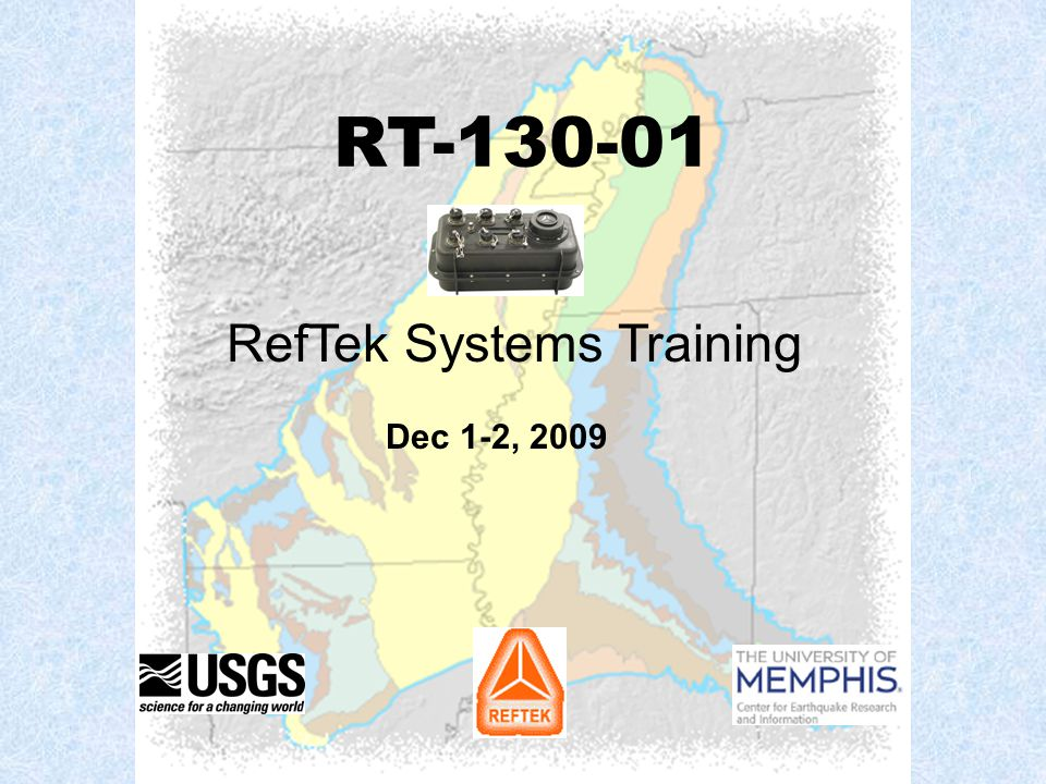 RefTek Systems Training
