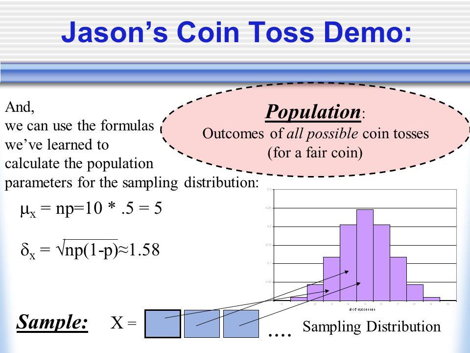 Jason's Coin Toss Demo: