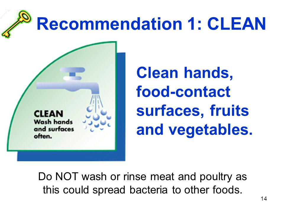Recommendation 1: CLEAN