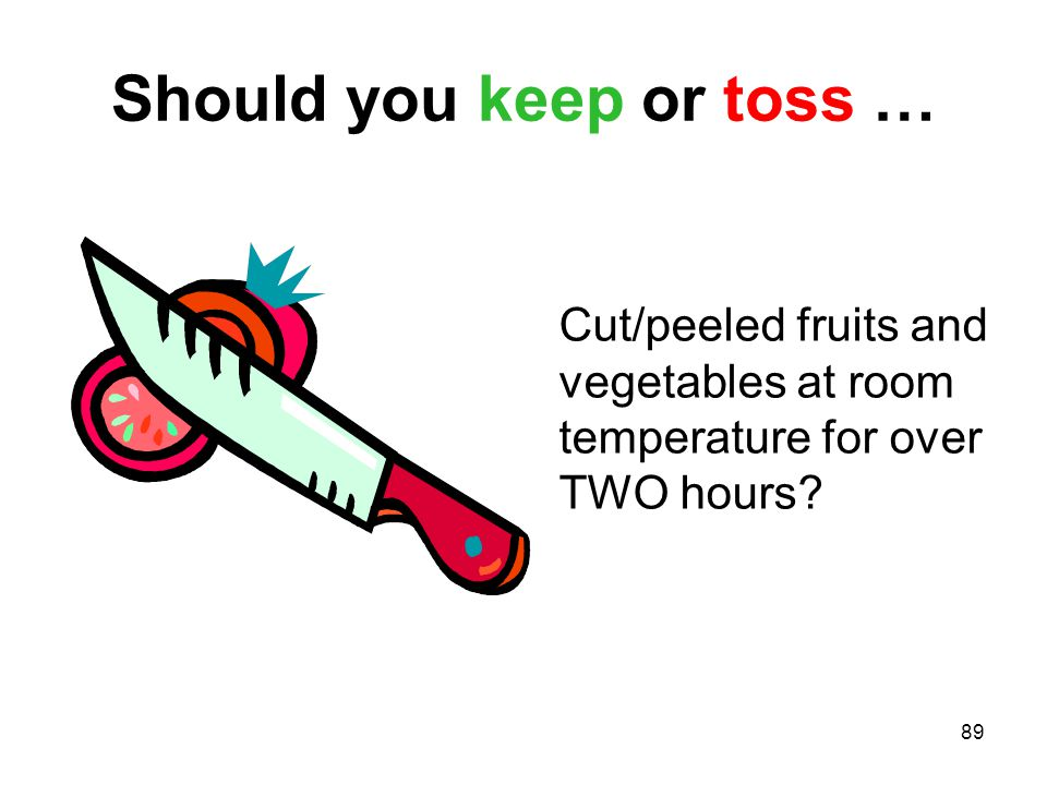 Should you keep or toss …