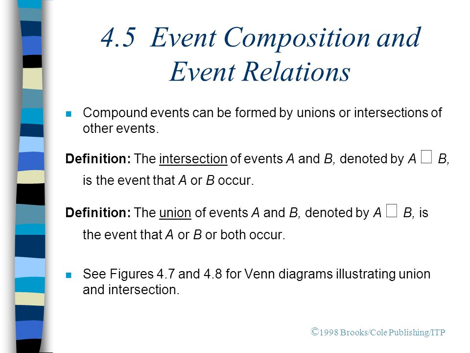 4.5 Event Composition and Event Relations