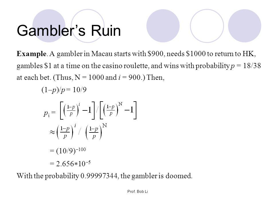 Gambler's Ruin