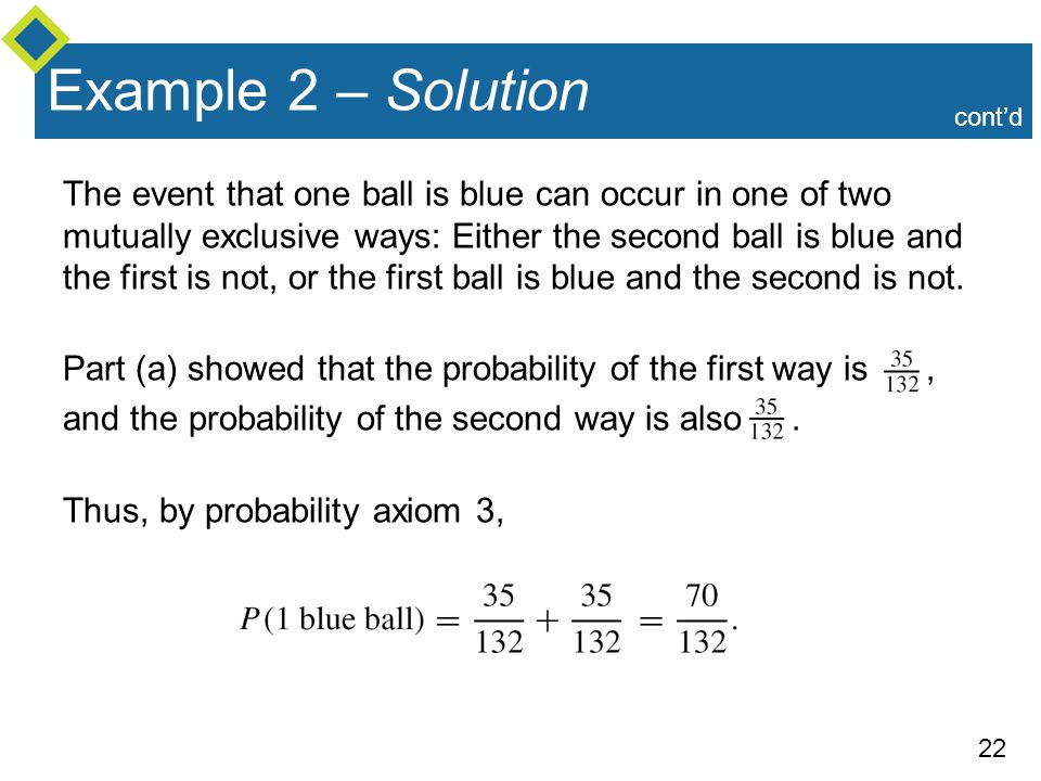 Example 2 – Solution cont'd.