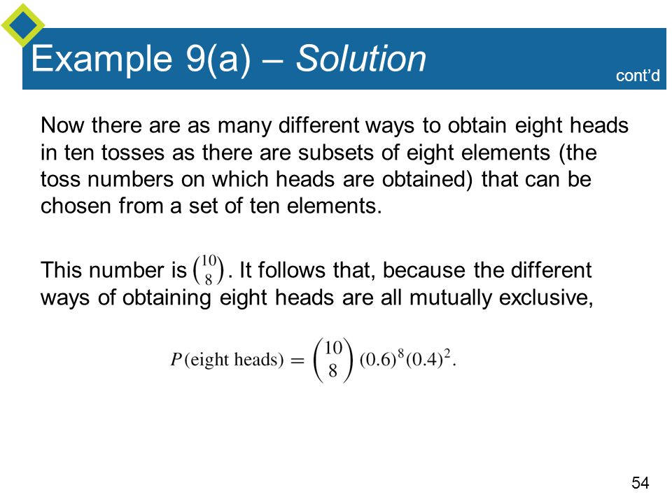 Example 9(a) – Solution cont'd.