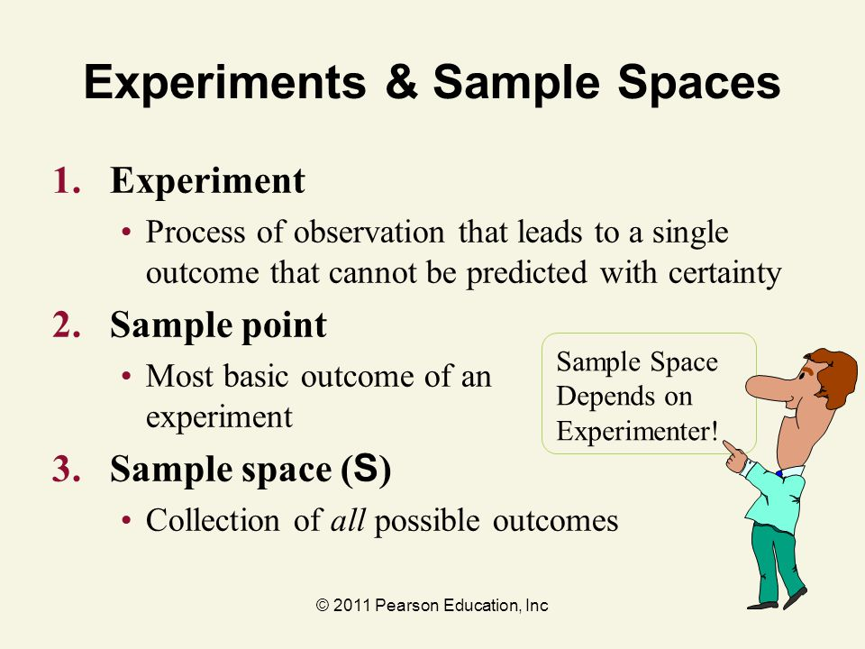 Experiments & Sample Spaces