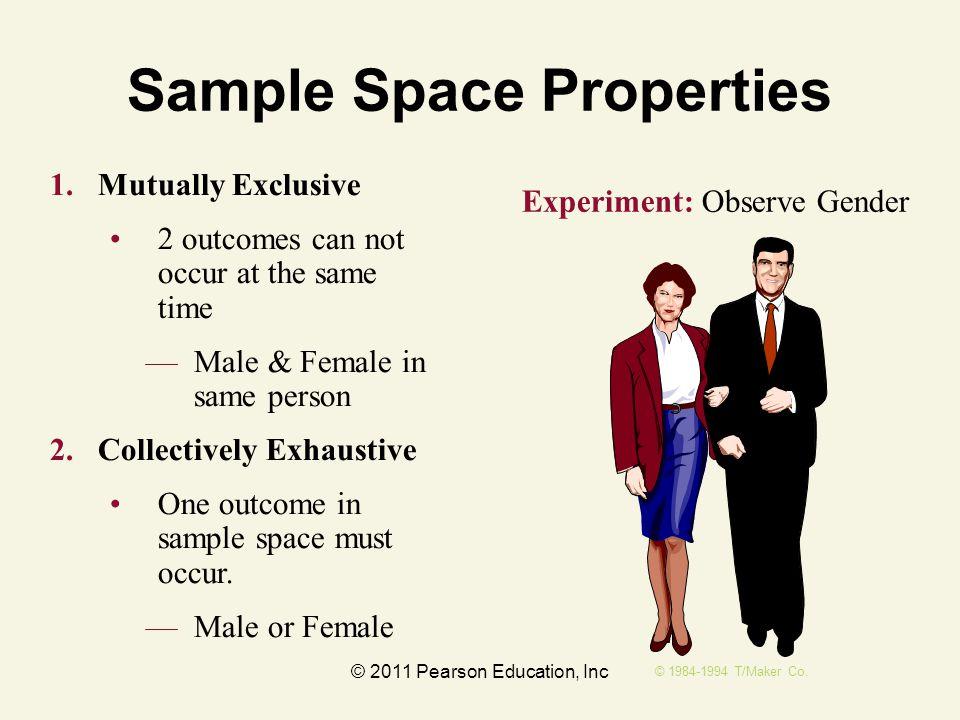 Sample Space Properties