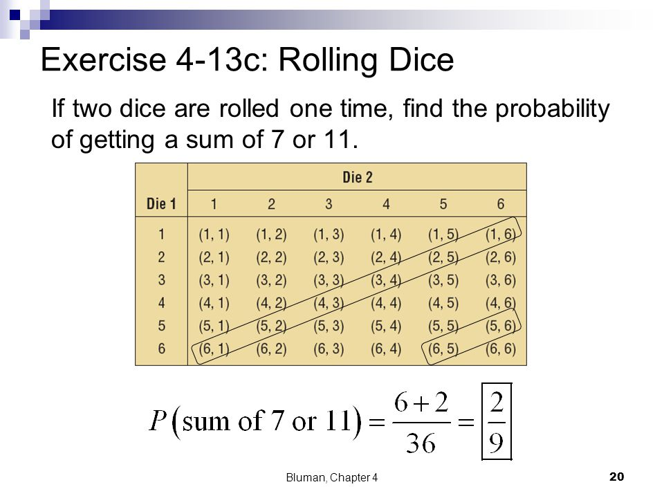 Exercise 4-13c: Rolling Dice