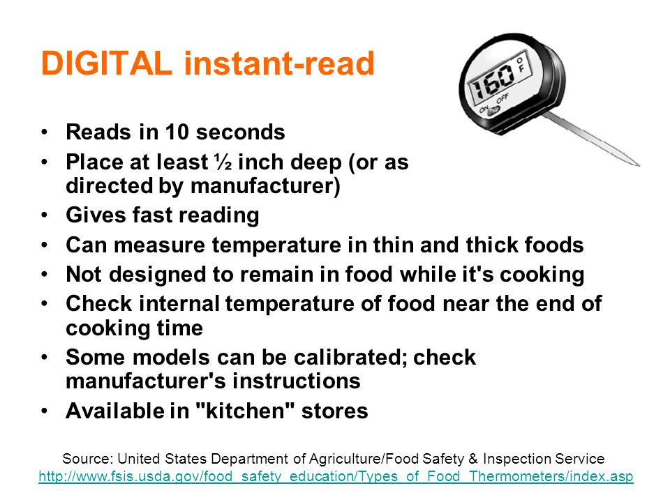 DIGITAL instant-read Reads in 10 seconds