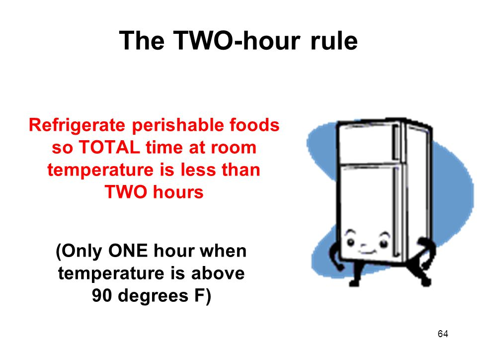How Many Degrees Does Food Cool In An Hour