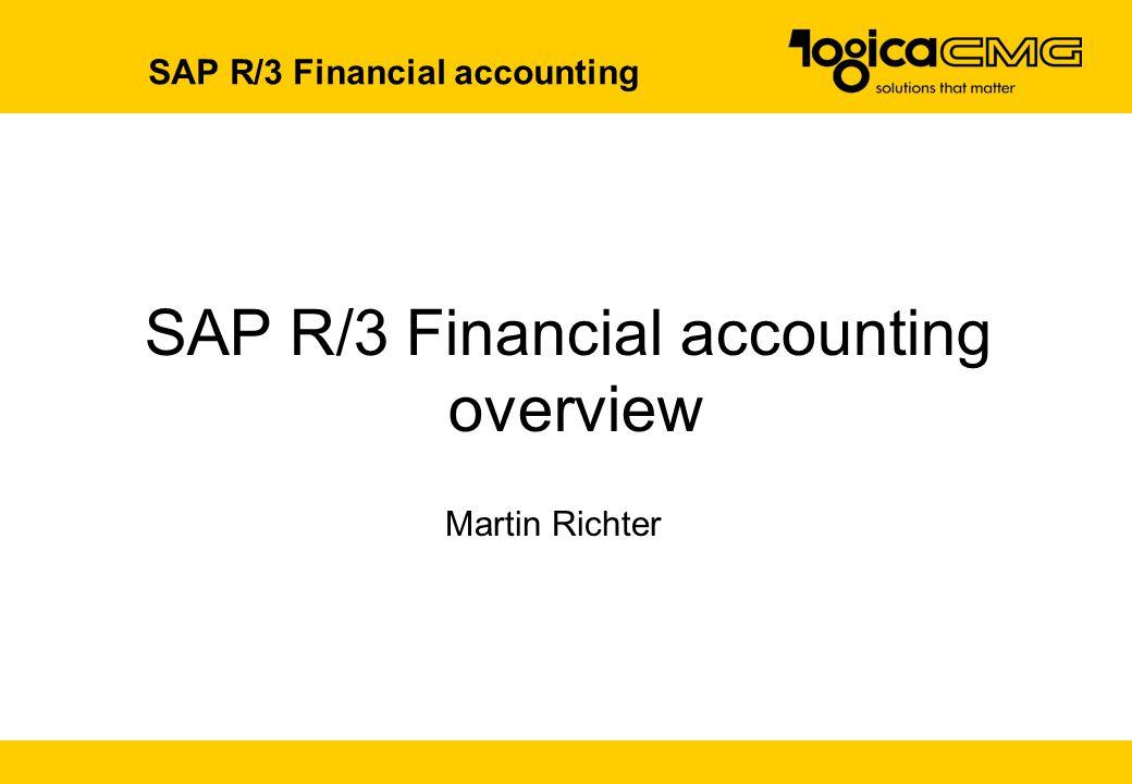 SAP R/3 Financial accounting
