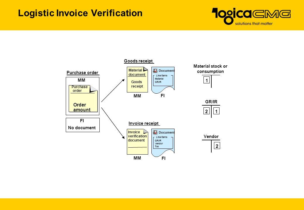 Logistic Invoice Verification