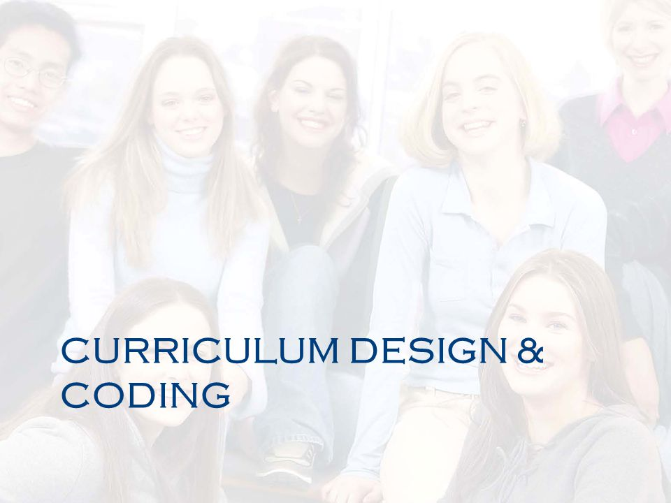 Curriculum Design & Coding