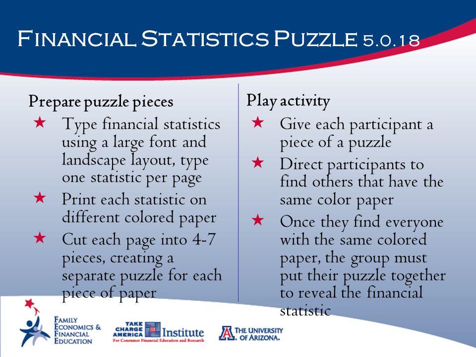 Financial Statistics Puzzle 5.0.18