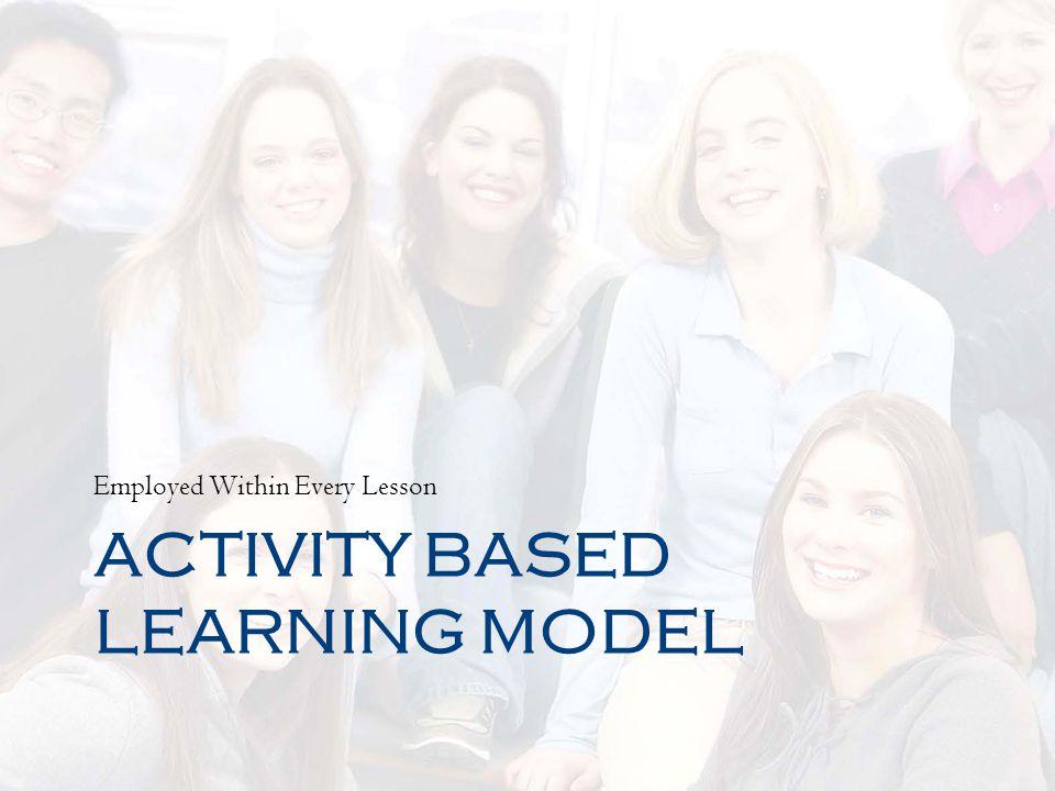 Activity Based Learning Model