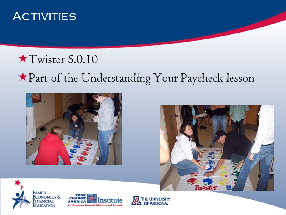 Part of the Understanding Your Paycheck lesson