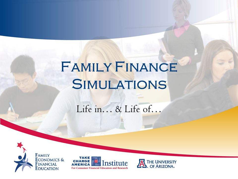 Family Finance Simulations