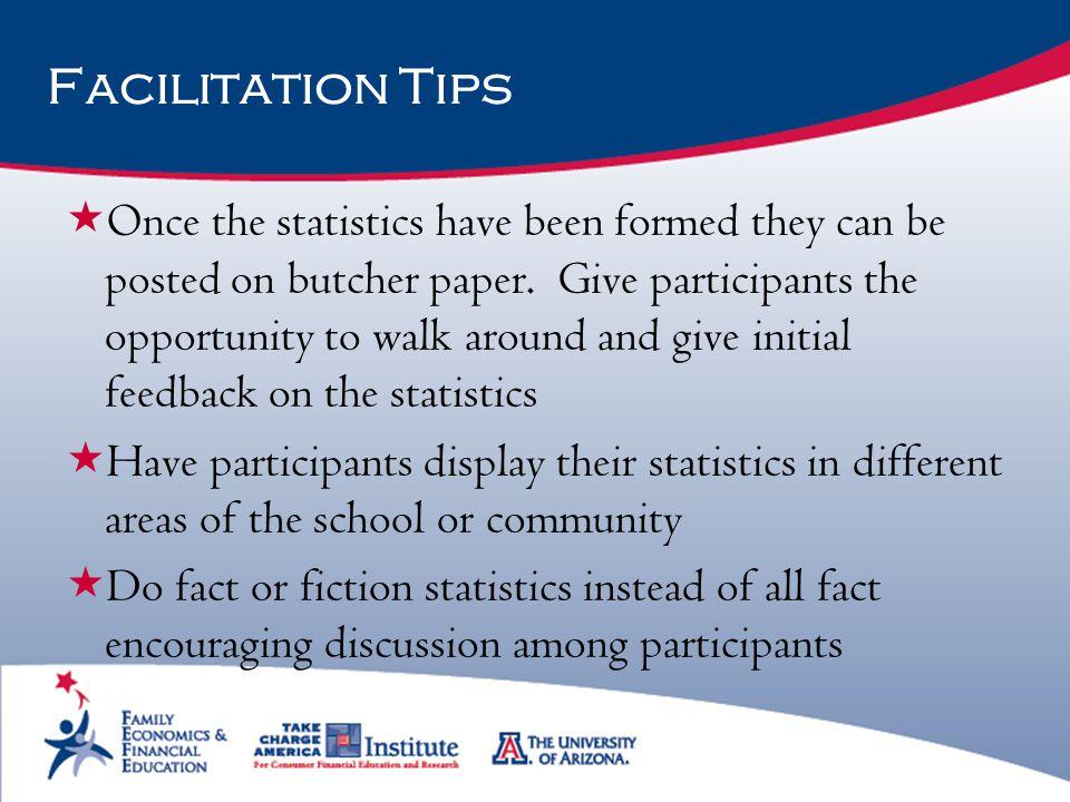Facilitation Tips
