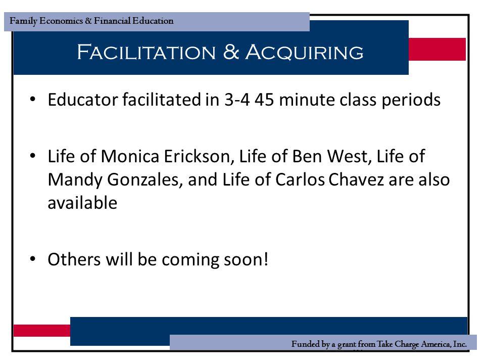 Facilitation & Acquiring