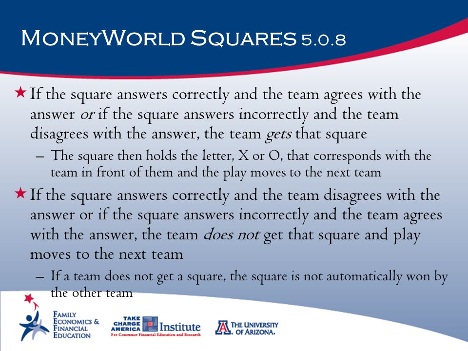 MoneyWorld Squares 5.0.8