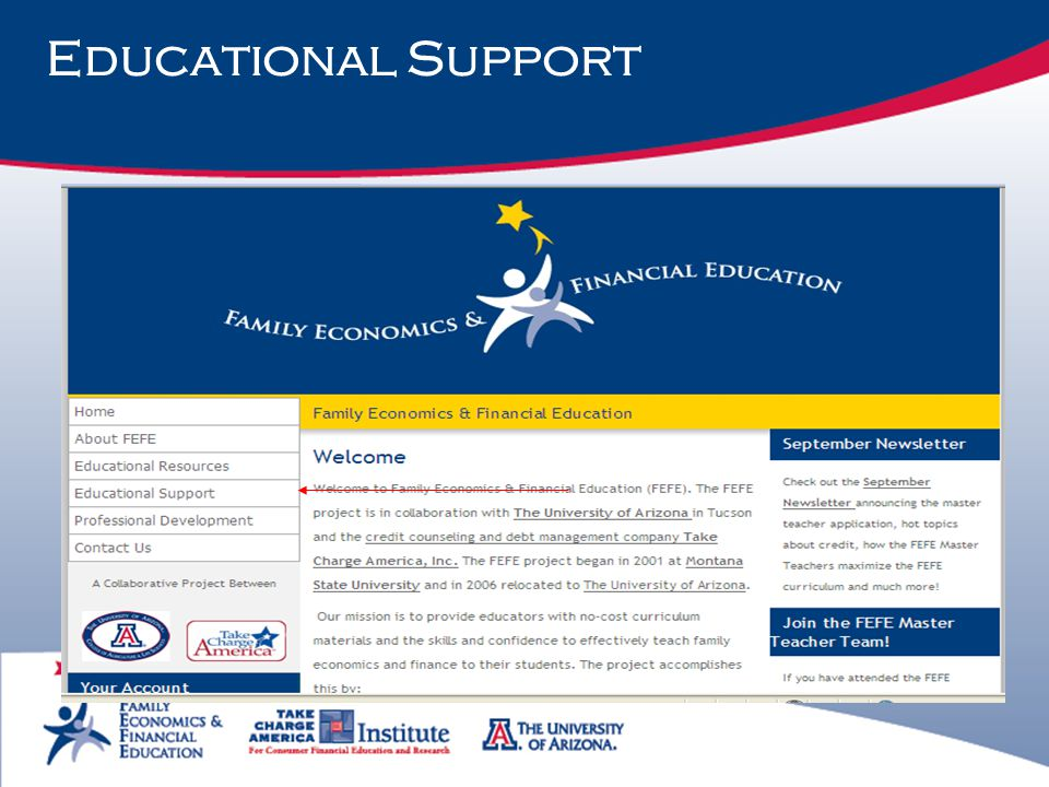 Educational Support