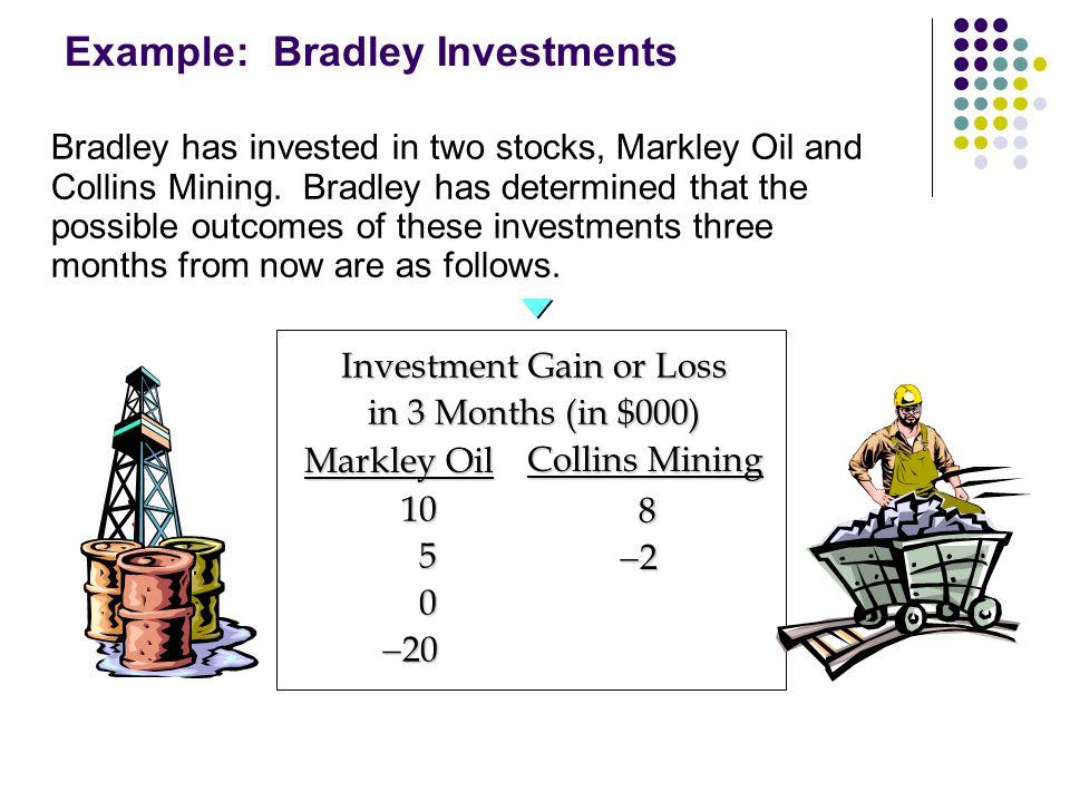 Example: Bradley Investments