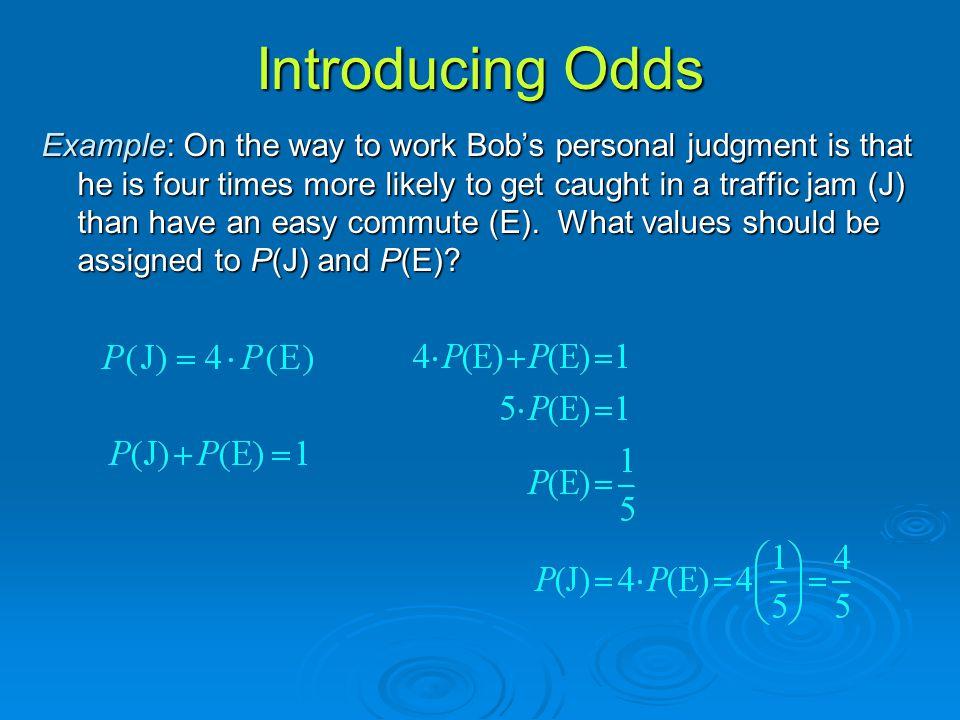 Introducing Odds