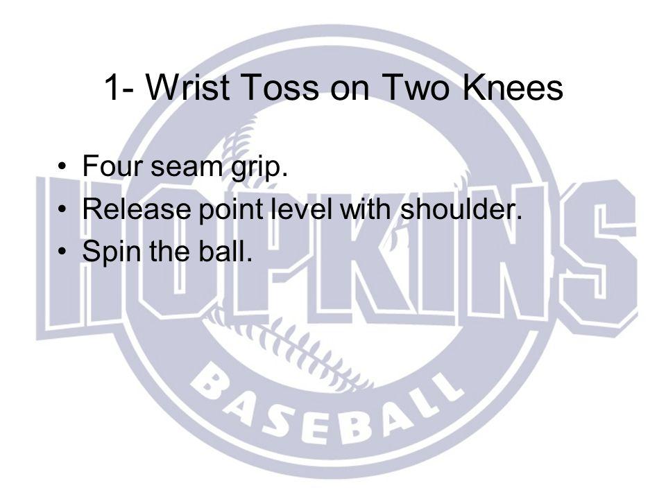 1- Wrist Toss on Two Knees